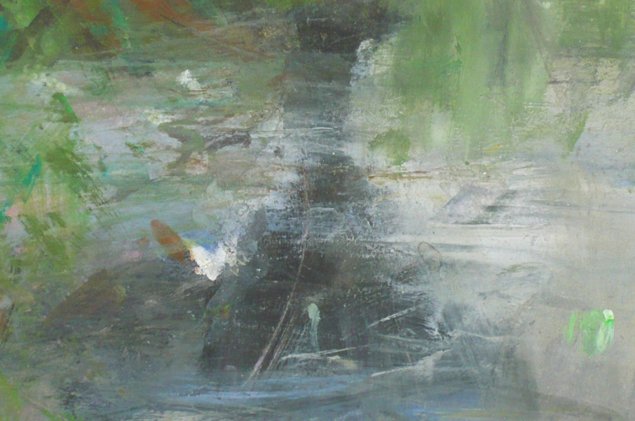 River Wye at the Warren, 2011, detail 4