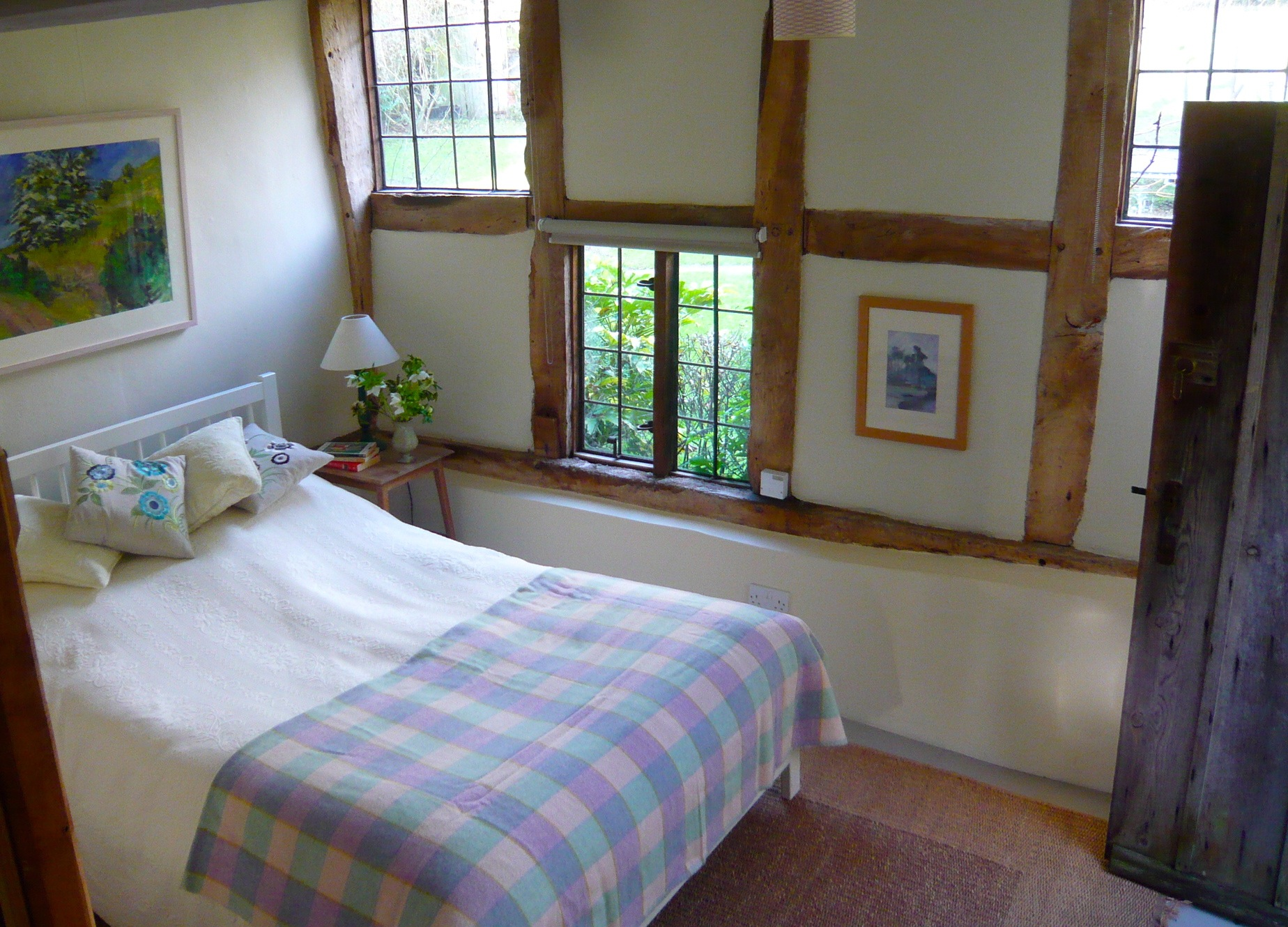 The annexe, bed area